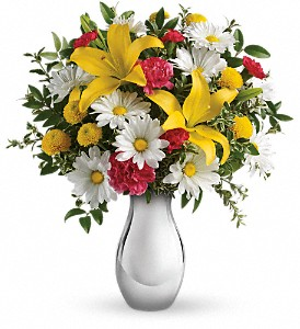 Just Tickled Bouquet by Teleflora in Charlotte NC, Wilmont Baskets & Blossoms