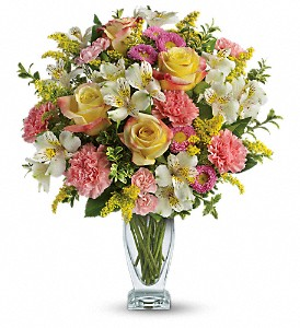 Meant To Be Bouquet by Teleflora in Spring Lake Heights NJ, Wallflowers