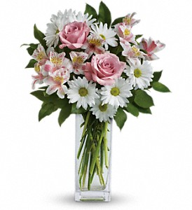 Sincerely Yours Bouquet by Teleflora in Austin TX, Ali Bleu Flowers