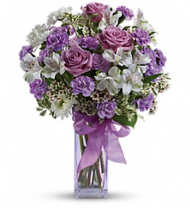 Teleflora's Lavender Laughter Bouquet in Glenview IL, Glenview Florist / Flower Shop