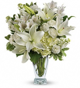 Teleflora's Purest Love Bouquet in Muskegon MI, Wasserman's Flower Shop