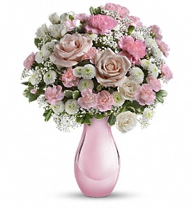 Teleflora's Radiant Reflections Bouquet in Zephyrhills FL, Talk of The Town Florist