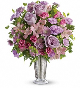 Teleflora's Sheer Delight Bouquet in Innisfail AB, Lilac & Lace Floral Design