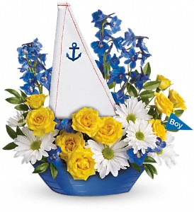 Ahoy It's A Boy Bouquet by Teleflora in Boynton Beach FL, Boynton Villager Florist