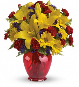 Teleflora's Let's Celebrate Bouquet in Metairie LA, Villere's Florist