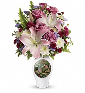 Thomas Kinkade's Moments Of Grace by Teleflora in Morgantown WV, Coombs Flowers