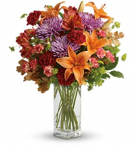 Teleflora's Fall Brights Bouquet in Bayonne NJ, Blooms For You Floral Boutique
