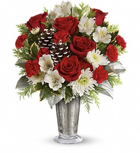 Teleflora's Timeless Cheer Bouquet in Loveland OH, April Florist And Gifts