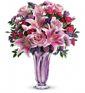 Teleflora's Lavender Grace Bouquet in Salt Lake City UT, Especially For You