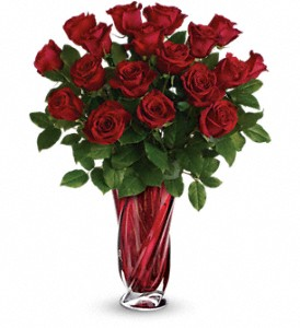 Teleflora's Red Radiance Bouquet in Morgantown WV, Coombs Flowers