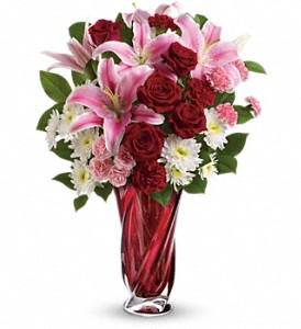 Teleflora's Swirling Beauty Bouquet in Jacksonville FL, Hagan Florist & Gifts