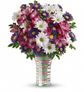 Teleflora's Thanks To You Bouquet in Oklahoma City OK, Array of Flowers & Gifts