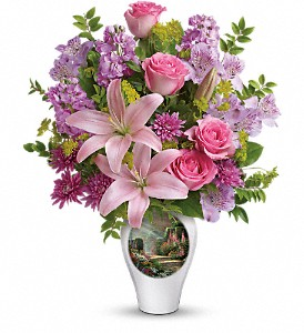 Thomas Kinkade's Glorious Goodness by Teleflora in Morgantown WV, Coombs Flowers