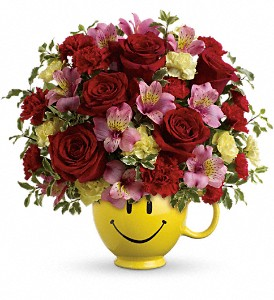 So Happy You're Mine Bouquet by Teleflora in Hilton NY, Justice Flower Shop