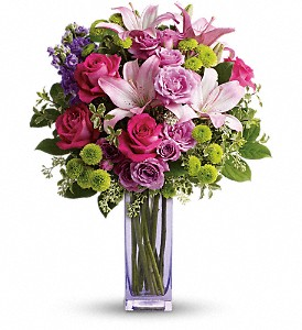 Teleflora's Fresh Flourish Bouquet in Thornhill ON, Wisteria Floral Design
