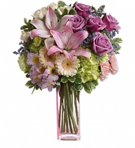 Teleflora's Artfully Yours Bouquet in Kelowna BC, Enterprise Flower Studio