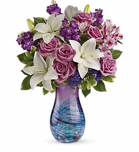 Teleflora's Artful Elegance Bouquet in Belford NJ, Flower Power Florist & Gifts