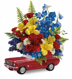 Teleflora's '65 Ford Mustang Bouquet in Colorado Springs CO, Colorado Springs Florist
