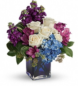 Teleflora's Portrait In Purple Bouquet in Hartland WI, The Flower Garden