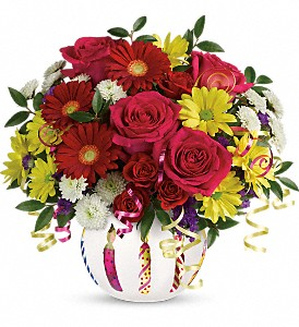 Teleflora's Special Celebration Bouquet in Bakersfield CA, White Oaks Florist