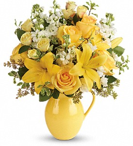 Teleflora's Sunny Outlook Bouquet in Arlington TX, Country Florist