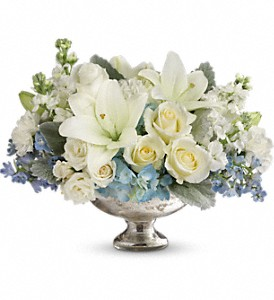Telflora's Elegant Affair Centerpiece in Canton NY, White's Flowers