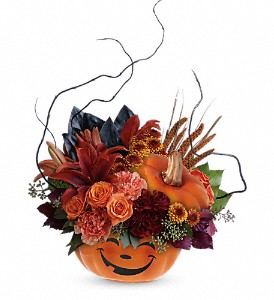Teleflora's Halloween Magic Bouquet in Olean NY, Mandy's Flowers