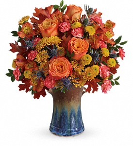 Teleflora's Classic Autumn Bouquet in Lethbridge AB, Flowers on 9th