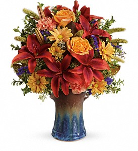 Teleflora's Country Artisan Bouquet in Fredericksburg VA, Finishing Touch Florist