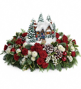Thomas Kinkade's Country Christmas Homecoming in Oklahoma City OK, Array of Flowers & Gifts