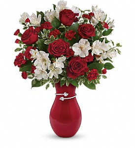 Teleflora's Pair Of Hearts Bouquet in Placentia CA, Expressions Florist