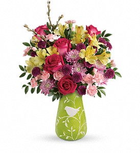 Teleflora's Hello Spring Bouquet in Oklahoma City OK, Array of Flowers & Gifts