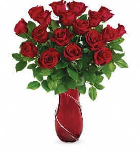 Teleflora's Wrapped In Roses Bouquet in Salt Lake City UT, Especially For You
