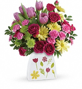 Teleflora's Make Their Daisies Bouquet in Meridian MS, Saxon's Flowers and Gifts