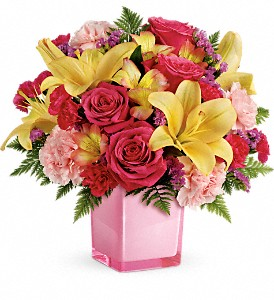 Teleflora's Pop Of Fun Bouquet in Sterling IL, Lundstrom Florist & Greenhouse