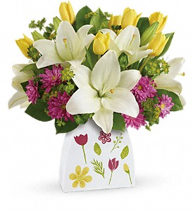 Teleflora's You Shine Bouquet in Oklahoma City OK, Array of Flowers & Gifts