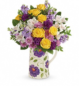 Teleflora's Garden Blossom Bouquet in Orrville & Wooster OH, The Bouquet Shop