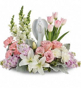 Teleflora's Garden Of Hope Bouquet in Royersford PA, Three Peas In A Pod Florist
