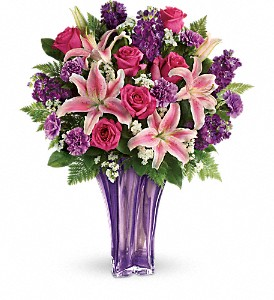 Teleflora's Luxurious Lavender Bouquet in Hilton NY, Justice Flower Shop