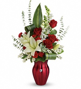 Teleflora's Hearts Aflutter Bouquet in Kelowna BC, Creations By Mom & Me