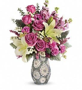 Teleflora's Blooming Spring Bouquet in Asheville NC, Gudger's Flowers