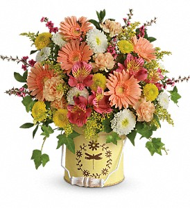 Teleflora's Country Spring Bouquet in Meadville PA, Cobblestone Cottage and Gardens LLC