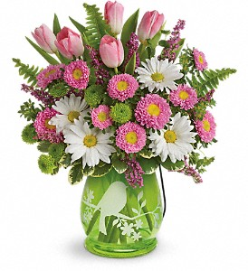 Teleflora's Songs Of Spring Bouquet in Worcester MA, Herbert Berg Florist, Inc.