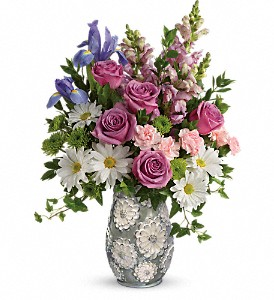 Teleflora's Spring Cheer Bouquet in Oklahoma City OK, Array of Flowers & Gifts