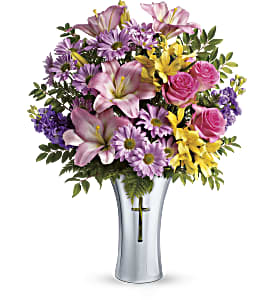 Teleflora's Bright Life Bouquet in Royersford PA, Three Peas In A Pod Florist