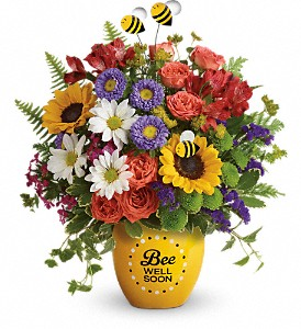 Teleflora's Garden Of Wellness Bouquet in Rockford IL, Cherry Blossom Florist