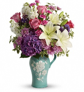 Teleflora's Natural Artistry Bouquet in Royersford PA, Three Peas In A Pod Florist
