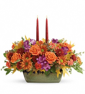 Teleflora's Country Sunrise Centerpiece in Bethesda MD, Bethesda Florist