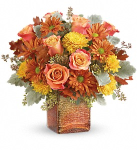 Teleflora's Grateful Golden Bouquet in McHenry IL, Locker's Flowers, Greenhouse & Gifts