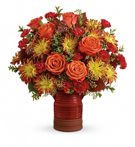 Teleflora's Heirloom Crock Bouquet in Knoxville TN, The Flower Pot